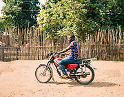 JUBA, SOUTH SUDAN – JUNE 1, 2018: Scenes of transportation in South Sudan's rapidly changing capital city.