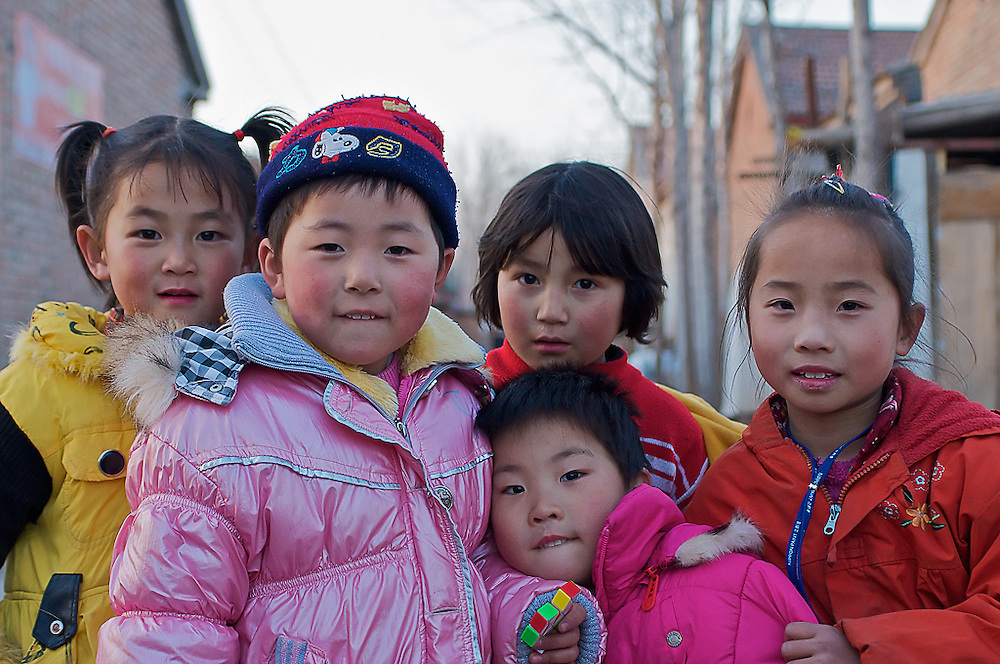 Children in Langfang, China