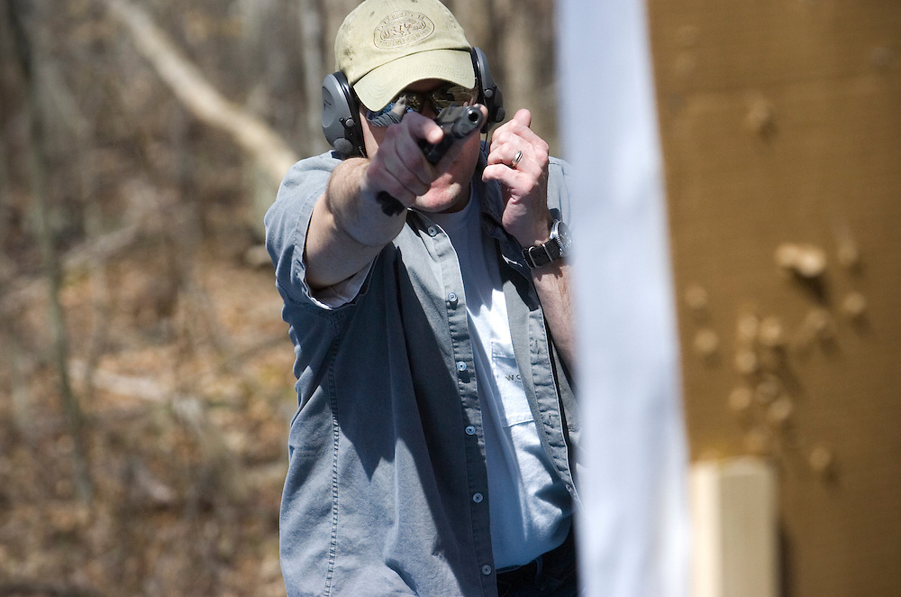 Modern Combative Systems Combative Pistol class.<br /> John Pavoncello photo