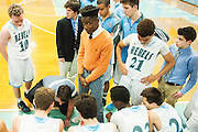 during the boys basketball game between the Colchester Lakers and the South Burlington Rebels at South Burlington High School on Saturday afternoon January 7, 2017 in South Burlington. (BRIAN JENKINS/for the FREE PRESS)