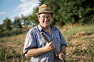 Portrait of Tuscan farmer from Val d'Arno