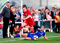 Lauren Hemp of Bristol City Women takes on Deanna Cooper of Chelsea Ladies - Mandatory by-line: Robbie Stephenson/JMP - 31/05/2017 - FOOTBALL - Stoke Gifford Stadium - Bristol, England - Bristol City Women v Chelsea Ladies - FA Women's Super League Spring Series