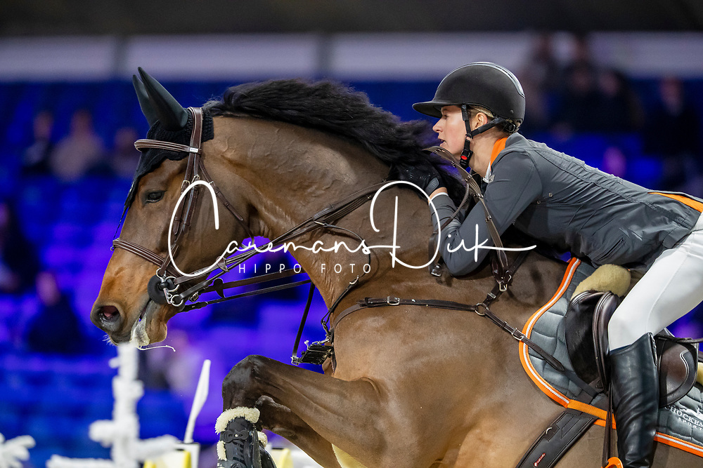 Makkinga Anne-Liza, NED, Go For It B<br /> Jumping Mechelen 2019<br /> © Hippo Foto - Martin Tandt<br />  27/12/2019