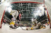 Antonin Manavian / Nicolas Riopel / Shayne Stockton - 25.01.2015 - Rouen / Amiens - Finale Coupe de France 2015 de Hockey sur glace<br /> Photo : Xavier Laine / Icon Sport