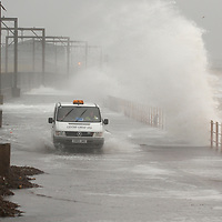 Scotland, Saltcoats 23rd November 2006 Extreme weather condition with strong gales and rain are battering the West Coast of Scotland&#xA;&#xA;&#xA;NUJ recommended terms & conditions apply. Moral rights asserted under&#xA;Copyright Designs & Patents Act 1988. Credit is required. No part of this&#xA;photo to be stored, reproduced, manipulated or transmitted by any means&#xA;without permission.&#xA;&#xA;Sithean Photography&#xA;100 A High Street &#xA;Cockenzie&#xA;East Lothian&#xA;EH32 0DQ&#xA;Email studio@sitheanphoto.com&#xA;Tel 0845 0506211&#xA;Fax 0845 2803228&#xA;<br />