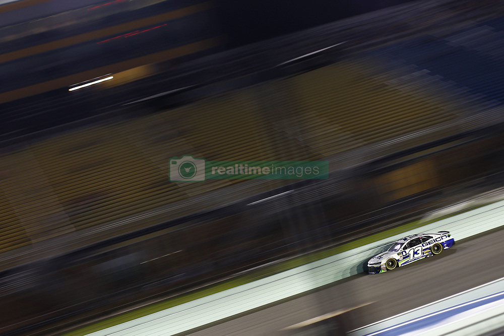 November 16, 2018 - Homestead, Florida, U.S. - Ty Dillon (13) takes to the track to qualify for the Ford 400 at Homestead-Miami Speedway in Homestead, Florida. (Credit Image: © Justin R. Noe Asp Inc/ASP)