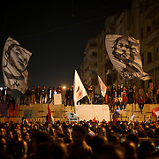Tens of thousands gathered to voice their anger against a planned referendum for a new islamic-based constitution planned by president Mohamed Morsi.