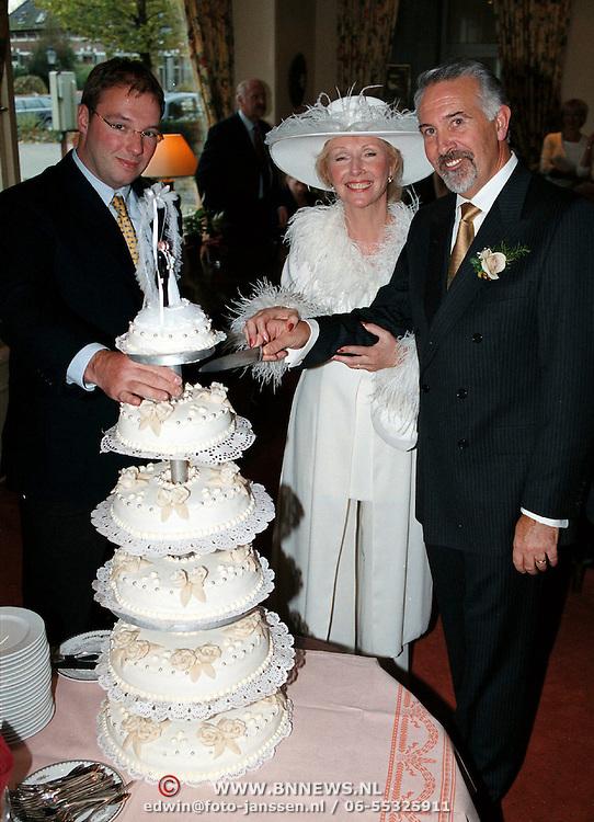 Huwelijk Lilly Kok + dhr van Jaarsveld lochem