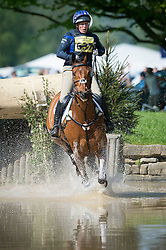 Phillips Zara (GBR) - High Kingdom<br /> Cross Country <br /> Dodson & Horrell Chatsworth International Horse Trials 2014 <br /> © Hippo Foto - Jon Stroud