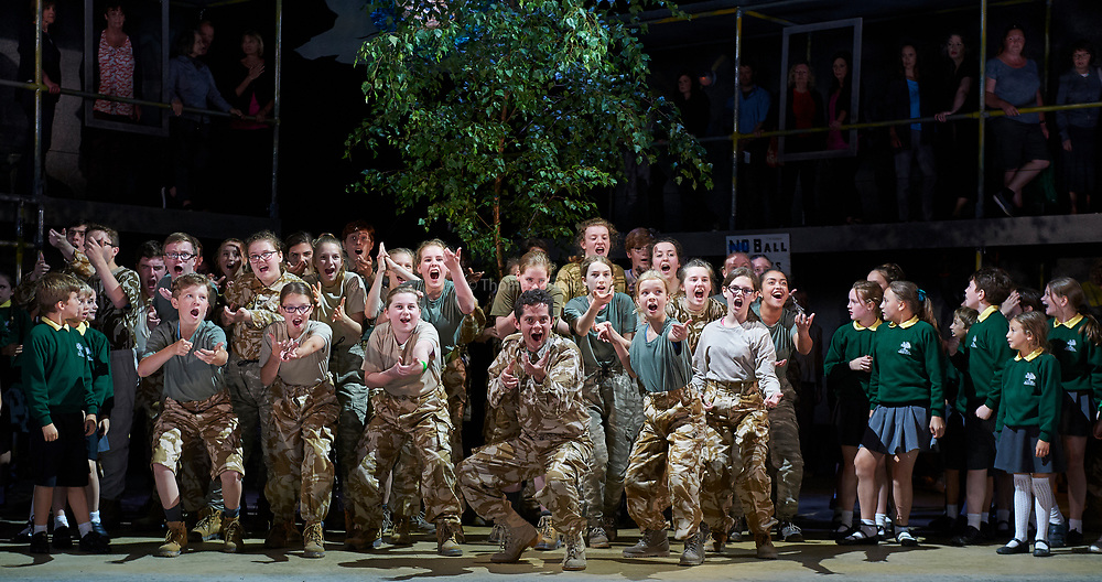 26th July 2017. Silver Birch performed by Garsington Opera, Wormsley. UK Directed by Karen Gillingham<br /> <br /> <br /> Jack -Sam Furness<br /> Anna -Victoria Simmonds<br /> Simon -Darren Jeffery<br /> Siegfried Sassoon -Bradley Travis<br /> Mrs Morrell -Sarah Redgwick<br /> Davey -James Way