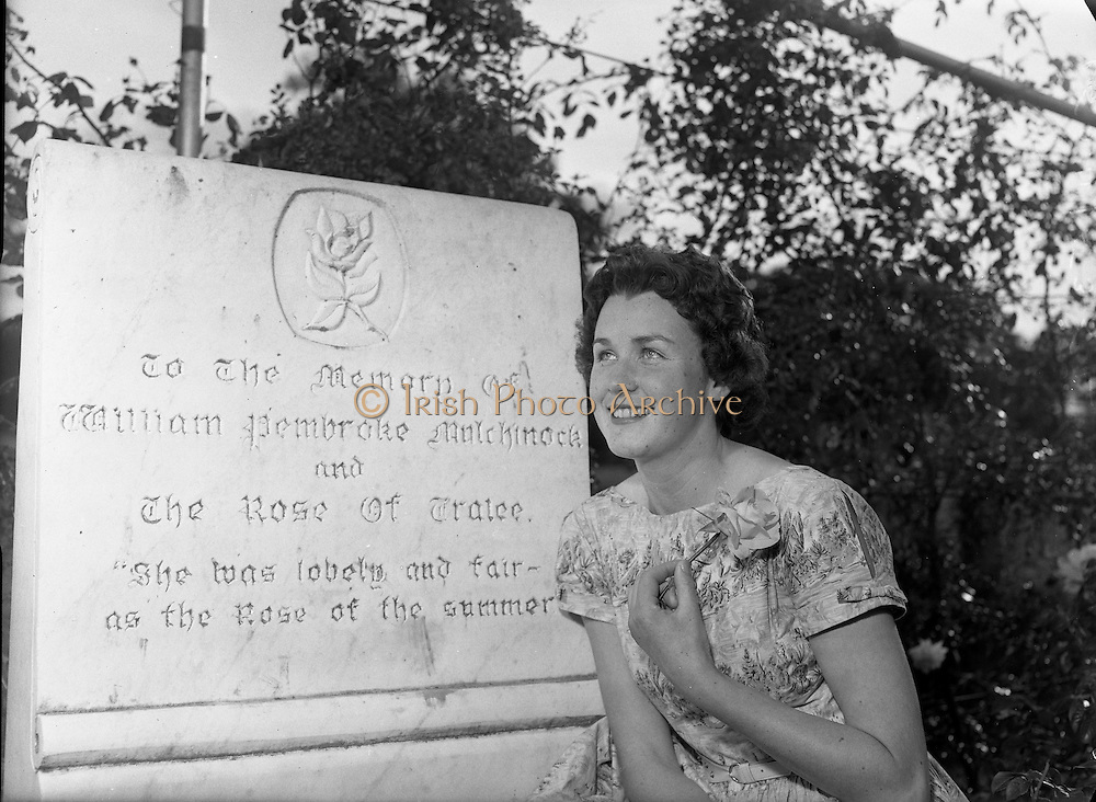 1960 Rose of Tralee & John B Keane Festival 15to17 August 1960...Theresa Kenny, Chicago Rose, Winning Rose, Kerry, Writer, Author, Irish Writer, Beautiful Lady,.