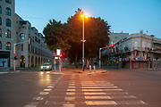 Jaffa, Jerusalem Boulevard at dawn