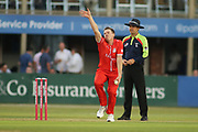 James Faulkner of Lancashire Lightning during the Natwest T20 Blast North Group match between Derbyshire County Cricket Club and Lancashire County Cricket Club at the 3aaa County Ground, Derby, United Kingdom on 6 July 2018. Picture by Mick Haynes.