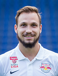 27.06.2014, Red Bull Arean, Salzburg, AUT, 1. FBL, Fototermin FC Red Bull Salzburg, im Bild Andreas Ulmer // Andreas Ulmer during the official Team and Portrait Photoshoot of Austrian Football Team FC Red Bull Salzburg at the Red Bull Arena, Salzburg, Austria on 2014/06/27. EXPA Pictures © 2014, PhotoCredit: EXPA/ JFK