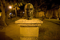 Statue. Cartagena, Colombia ..Photo by Robert Caplin..