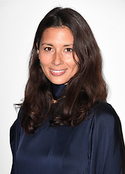 Jasmine Hemsley on the front row during the Eudon Choi London Fashion Week SS18 show held at the BFC Show Space, London.