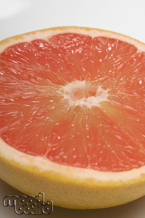 Halved grapefruit, close-up