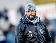 FODBOLD: Cheftræner Christian Lønstrup (FC Helsingør) før kampen i ALKA Superligaen mellem FC Helsingør og Silkeborg IF den 28. oktober 2017 på Helsingør Stadion. Foto: Claus Birch