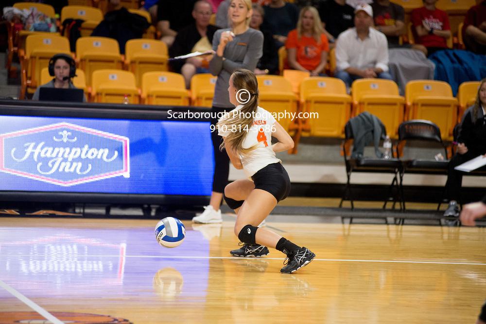 2016 Campbell University Volleyball vs NC Presbyterian during Hurricane Matthew