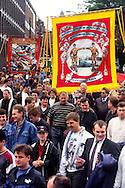 Whitemoor Branch banner, Miners Gala Wakefield.