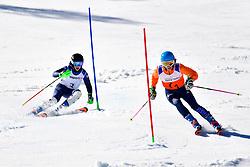 FITZPATRICK Menna, Guide: KEHOE Jennifer, B2, GBR, Slalom at the WPAS_2019 Alpine Skiing World Cup, La Molina, Spain