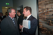 TONY ELLIOT; ED VAIZEY, Opening of the new PHOTOGRAPHERS GALLERY,  Ramillies St, London. 17 May 2012