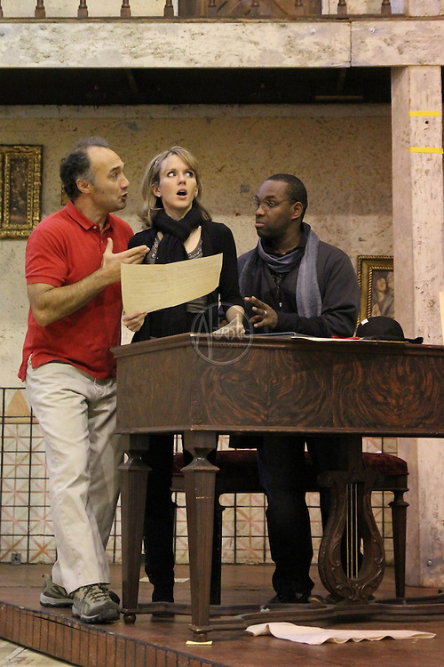 Rehearsal for Seattle Opera's Barber of Seville.