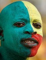 Photo: Steve Bond/Richard Lane Photography.<br /> Ivory Coast v Benin. Africa Cup of Nations. 25/01/2008. Benin fan