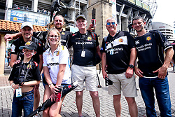 Exeter Chiefs fans arrive at Twickenham for the Premiership Rugby Final against Saracens - Mandatory by-line: Robbie Stephenson/JMP - 01/06/2019 - RUGBY - Twickenham Stadium - London, England - Exeter Chiefs v Saracens - Gallagher Premiership Rugby Final