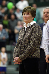 21 February 2015:  At half time of an NCAA D# CCIW men's basketball game between the Illinois Wesleyan Titans in Shirk Center, Bloomington IL the floor was named in honor of retiring Dennie Bridges.  Dennie Bridges has been on the job at IWU for 51 years as a basketball coach, then athletic director.  Dennie is the 2nd winningest D3 coach by wins behind only Dick Saurs.  Dennie took the Titans to the D3 NCAA tournament 14 times in 18 season. He had a league record of 421-129 in 17 seasons.  Jack Sikma was a part of Dennie's 1973 recruiting class.  Sikma later played for the Milwaukee Bucks and Seattle Supersonics in the NBA.  IWU President Richard Wilson presided over the ceremony.