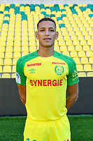 Yacine Bammou during photoshooting of Fc Nantes for new season 2017/2018 on September 18, 2017 in Nantes, France. (Photo by Philippe Le Brech/Icon Sport)