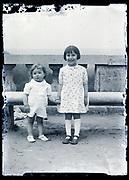 two little children France circa 1920s
