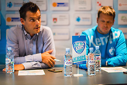Press conference of RK Krim Mercator before season 2016/2017, on August 17, 2016 in Ljubljana, Slovenia. Photo by Ziga Zupan / Sportida