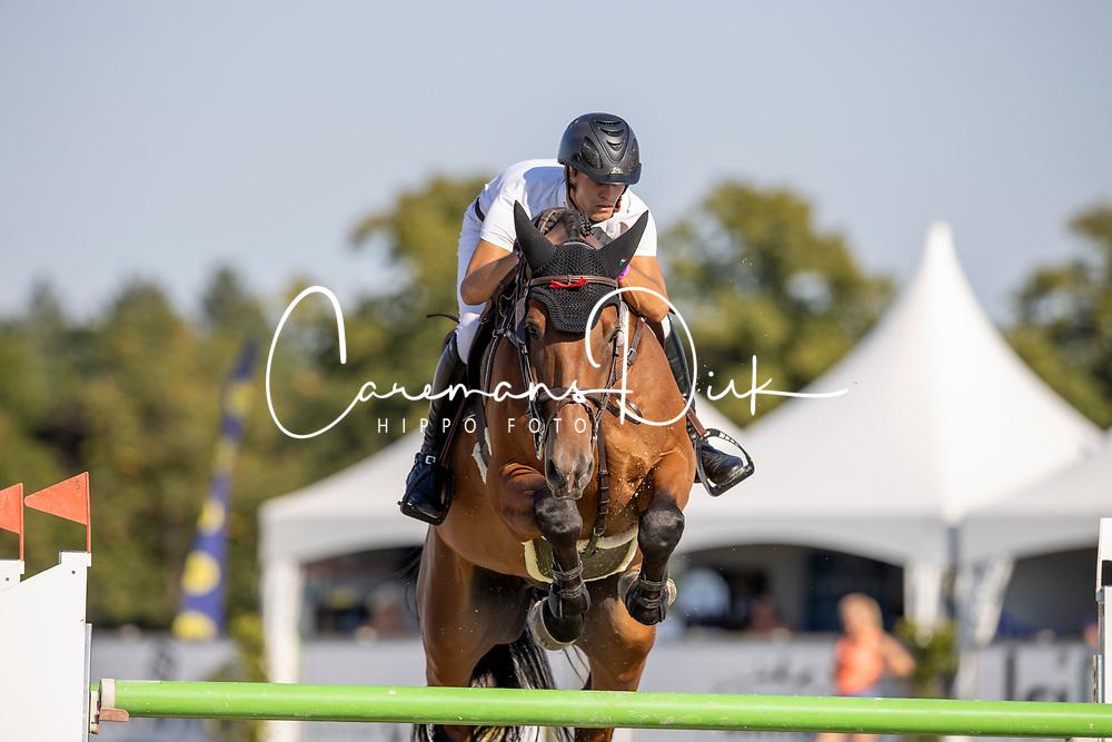 Kersten Niels, NED, Estoril<br /> Nederlands Kampioenschap Springen<br /> De Peelbergen - Kronenberg 2020<br /> © Hippo Foto - Dirk Caremans<br />  06/08/2020