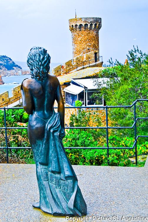 Tossa de mar-Statue Ava Gardner