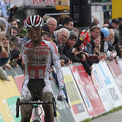 03-11-2019: Wielrennen: Superprestige Veldrijden: Ruddervoorde<br /> Ceylin del Carmen Alvardo wins the 3th race Superprestige at Ruddervoorde