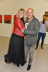 Kate Thornton and Lincoln Townley at the START Art Fair - Preview Evening held at the Saatchi Gallery, Duke of York's HQ, King's Road, London on 25th September 2019.