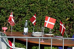 Picnic table during the Men's Elite Road Race at the UCI Road World Championships on September 25, 2011 in Copenhagen, Denmark. (Photo by Marjan Kelner / Sportida Photo Agency)