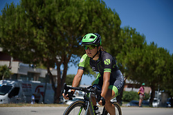 Rossella Ratto on Stage 5 of the Giro Rosa - a 12.7 km individual time trial, starting and finishing in Sant'Elpido A Mare on July 4, 2017, in Fermo, Italy. (Photo by Sean Robinson/Velofocus.com)