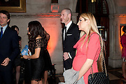 LEYLA ALIYEVA;  ; JEAN-DAVID MALAT;  ARZU ALIYEVA;,  THE FABERGÉ BIG EGG HUNT AUCTION in aid of Action for Children. Royal Courts of Justice. London. 20 March 2012.