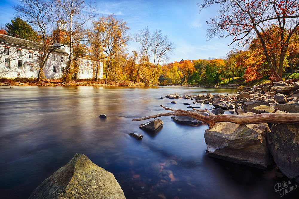 Out enjoying the last few days of autumn color along the Brandywine River.