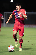 York City midfielder Michael Coulson during the Johnstone's Paint Trophy match between York City and Doncaster Rovers at Bootham Crescent, York, England on 6 October 2015. Photo by Simon Davies.