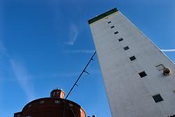 GERMANY ECKERNFOERDE 15FEB04 - Old corn storage silo in Eckernfoerde harbour, Germany.....jre/Photo by Jiri Rezac....© Jiri Rezac 2004..
