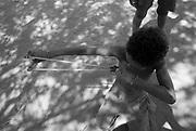 Quilombo da Lapinha, comunidade situada à beira do Rio São Francisco, na cidade de Matias Cardoso, região norte de Minas Gerais. Os moradores dessa comunidade são quilombolas e vazanteiros.