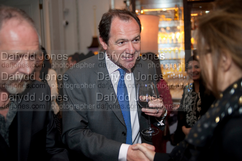 Henry Porter hosts a launch for Songs of Blood and Sword by Fatima Bhutto. The Artesian at the Langham London. Portland Place. 15 April 2010. *** Local Caption *** -DO NOT ARCHIVE-© Copyright Photograph by Dafydd Jones. 248 Clapham Rd. London SW9 0PZ. Tel 0207 820 0771. www.dafjones.com.<br /> Henry Porter hosts a launch for Songs of Blood and Sword by Fatima Bhutto. The Artesian at the Langham London. Portland Place. 15 April 2010.