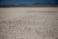 Stony desert ground