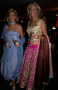 Alison Doody and Lisa Bentinck. British Red Cross tenth annual Ball. 'The Room' South Bank. London. 1 December 2004. ONE TIME USE ONLY - DO NOT ARCHIVE  © Copyright Photograph by Dafydd Jones 66 Stockwell Park Rd. London SW9 0DA Tel 020 7733 0108 www.dafjones.com