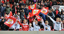 Members of Portishead Town FC at Ashton Gate Stadium - Mandatory by-line: Paul Knight/JMP - 19/09/2017 - FOOTBALL - Ashton Gate Stadium - Bristol, England - Bristol City v Stoke City - Carabao Cup