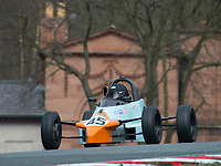 #45 Ian ELLIS Reynard FF89  during Avon Tyres Formula Ford 1600 Northern Championship - Pre 90 as part of the BRSCC Oulton Park Season Opener at Oulton Park, Little Budworth, Cheshire, United Kingdom. March 24 2018. World Copyright Peter Taylor/PSP.