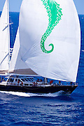 Axia racing in the St. Barth's Bucket Regatta.